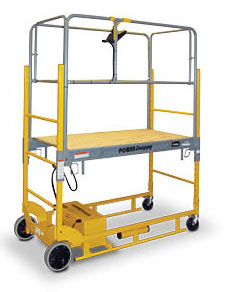 Power Snappy Motorized Work Platform At Neca 2014 Show